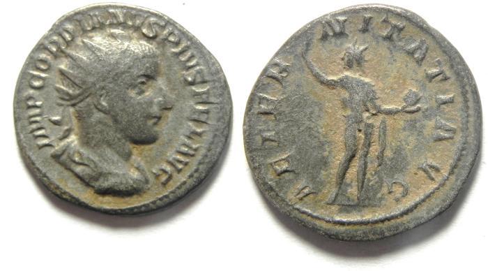 Ancient Coins - GORDIAN III SILVER ANTONINIANUS