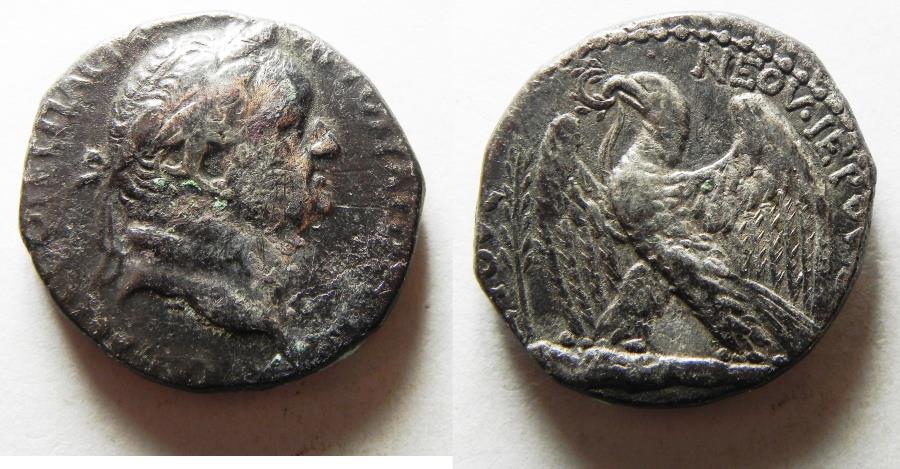 Ancient Coins - ANTIOCH. VESPASIAN SILVER TETRADRACHM
