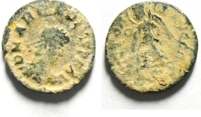 Ancient Coins - ARCADIUS AE 3 AS FOUND