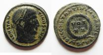 Ancient Coins - CONSTANTINE I AE 3 . ATTRACTIVE