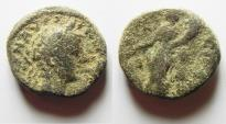 Ancient Coins - JUDAEA. SAMARIA. NEAPOLIS. ELAGABALUS AE 18MM