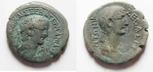 Ancient Coins - Egypt. Alexandria under Claudius (AD 41-54). Billon tetradrachm (25mm, 11.98gm).