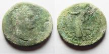 Ancient Coins - JUDAEA CAPTA UNDER DOMITIAN AE 25. AS FOUND