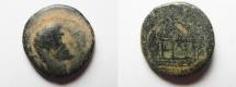 Ancient Coins - Judaea. Herodian dynasty. Herod Philip (4 BCE-34 CE). AE Æ 20
