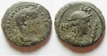 Ancient Coins - Egypt. Alexandria under Severus Alexander (AD 222-235). Billon tetradrachm (24mm, 12.6 g). Struck in regnal year 12 (AD232/3).