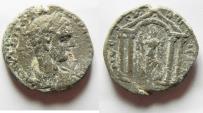 Ancient Coins - Decapolis. Nysa-Scythopolis under Elagabalus (AD 218-222). AE 23mm, 11.16g. Struck in civic year 282 (AD 218/9).