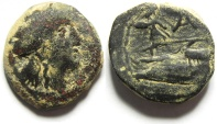 Ancient Coins - PHOENICIA : ARADOS 1ST CENT. B.C , UNDER ROMAN RULE
