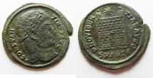Ancient Coins - CONSTANTINE I AE 3 . LARGE FLAN