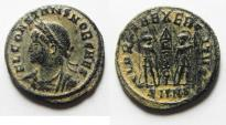 Ancient Coins - 	CONSTANS AE 3 . DESERT PATINA