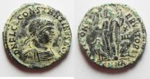Ancient Coins - CONSTANTINE II AE 3 . AS FOUND. ORIGINAL PATINA