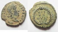 Ancient Coins - CONSTANTIUS II AE 4. ORIGIANL PATINA