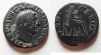Ancient Coins - VITELLIUS. AR DENARIUS