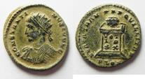Ancient Coins - BEAUTIFUL AE 3 OF CONSTANTINE II . LONDON MINT. DESERT PATINA