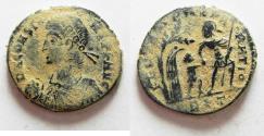 Ancient Coins - AS FOUND. ORIGINAL DESERT PATINA CONSTANS AE CENT.