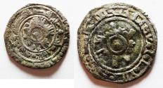 World Coins - FATIMID SILVER HALF DIRHEM