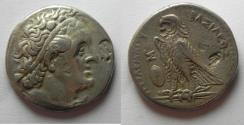 Ancient Coins - Egypt. Ptolemaic kings. Ptolemy II Philadelphos (283-246 BC). AR tetradrachm (27mm, 13.94g) Alexandria mint.