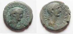 Ancient Coins - Egypt. Alexandria under Claudius (AD 41-54). Billon tetradrachm (25mm, 11.98gm).