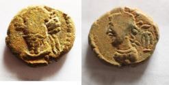 Ancient Coins - Kings of Elymais, Orodes IV (c. AD 150-200). Æ Drachm.