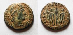 Ancient Coins - ORIGINAL DESERT PATINA: CONSTANTINE I AE 4
