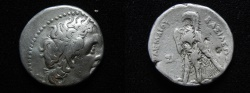Ancient Coins - Ptolemaic kings. Ptolemy II Philadelphos (282-246 BC). AR tetradrachm. Sidon mint. Struck in c. 274 BC.