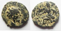 Ancient Coins - ARABIA. Septimius Severus, Petra  AE 24