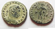 Ancient Coins - ORIGINAL DESERT PATINA: CONSTANTINE I AE follis