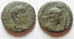 Ancient Coins - Egypt. Alexandria under Severus Alexander (AD 222-235). Billon tetradrachm (24mm, 12.6 g). Struck in regnal year 12 (AD232/3).