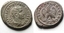 Ancient Coins - Syria, Antioch. Trebonianus Gallus. Billion Tetradrachm , MINT state!