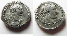 Ancient Coins - Seleucis and Pieria, Trajan, Silver Tetradrachm, Antioch