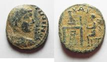 Ancient Coins - ARABIA, Charachmoba. Elagabalus. AD 218-222. AS FOUND
