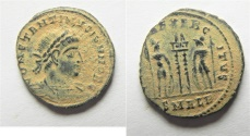 Ancient Coins - CONSTANTINE II AE  3 . ALEXANDRIA MINT