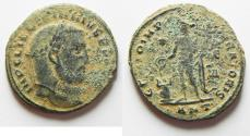 Ancient Coins - LICINIUS I AE FOLLIS. AS FOUND