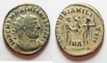 Ancient Coins - AS FOUND: MAXIMIANUS AE ANTONINIANUS