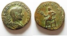 Ancient Coins - BEAUTIFUL GORDIAN III AE SESTERTIUS
