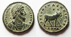 Ancient Coins - CHOICE COIN: JULIAN II The Apostate. Æ Double Maiorina. 360-363 AD. ANTIOCH mint.