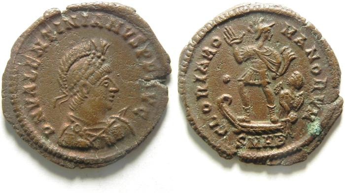 Ancient Coins - BEAUTIFULL VALENTINIAN I AE 2
