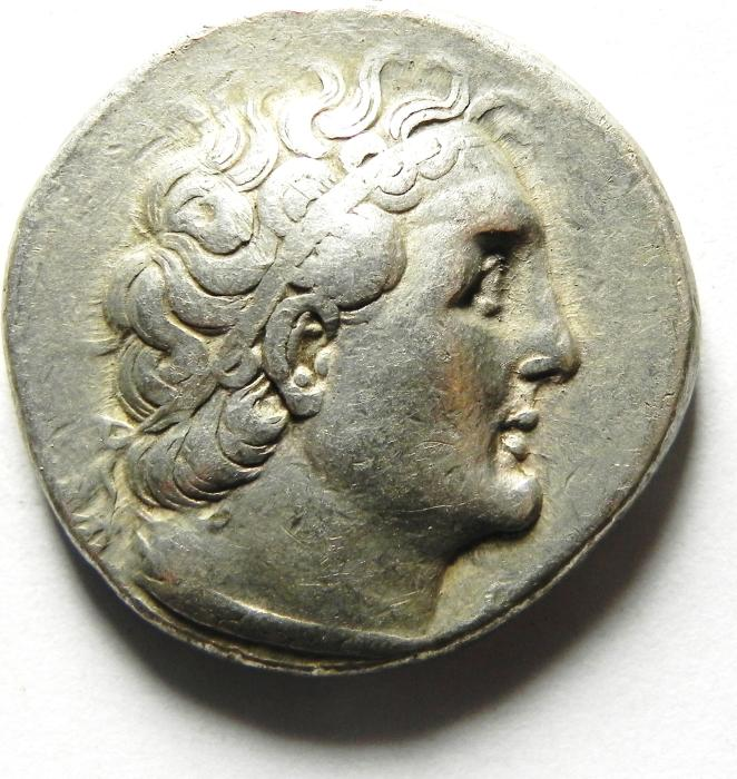 Ancient Coins - Ptolemaic Kingdom. Ptolemy II Philadelphos. 285-246 BC. AR Tetradrachm , Ake - Ptolemais (akko) mint, Beautifull Quality , very nice surface!!!