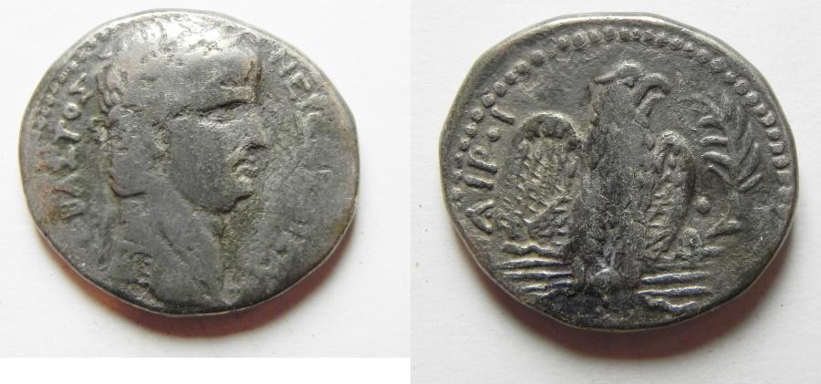 Ancient Coins - BEAUTIFUL NERO TETRADRACHM OF ANTIOCH , FAMOUS BIBLICAL NERONIAN SELA