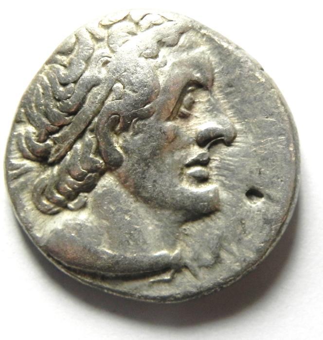 Ancient Coins - Ptolemaic Kingdom. Ptolemy II, 285-246 B.C. AR Tetradrachm , AKKO MINT.