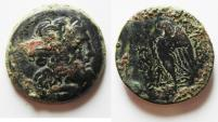 Ancient Coins - PTOLEMAIC KINGDOM. PTOLEMY IV. AE 25