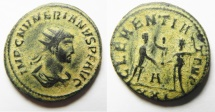Ancient Coins - BEAUTIFUL NUMERIAN AE ANTONINIANUS. NICE DESERT PATINA