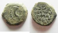 Ancient Coins - NICE JUDAEAN HASMONEAN PRUTAH