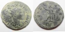 Ancient Coins - BEAUTIFUL AS FOUND CLAUDIUS II GOTHICUS AE ANTONINIANUS