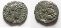 Ancient Coins - Egypt. Alexandria under Commodus (AD 180-192). Billon tetradrachm (25mm, 13.71gm).