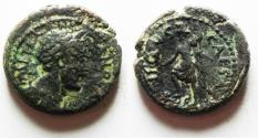 Ancient Coins - JUDAEA. CAESAREA MARITIMA. HADRIAN AE 23