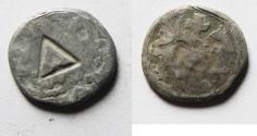 Ancient Coins - MEDIEVAL. Kingdom of Cilician Armenia. Levon III (1301-1307). AR takvorin (13mm, 1.14g).