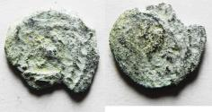 Ancient Coins - Judaea, Herod the Great, 37 - 4 B.C. AE Double prutah