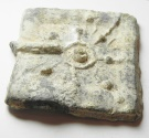 Ancient Coins - Hellenistic lead weight (49 x 45mm, 71.35g).