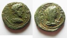 Ancient Coins - DECAPOLIS. PHILADELPHIA . COMMODUS AE 21. BEAUTIFUL QUALITY
