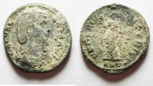 Ancient Coins - CHOICE AS FOUND GALERIA AE FOLLIS